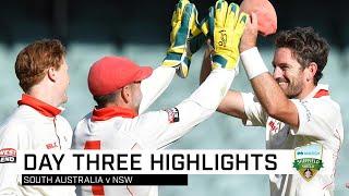 Redbacks eye upset after Sayers' 13-wicket haul | Marsh Sheffield Shield 2019-20