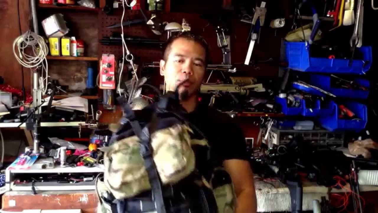 Death dealer tactical range bag