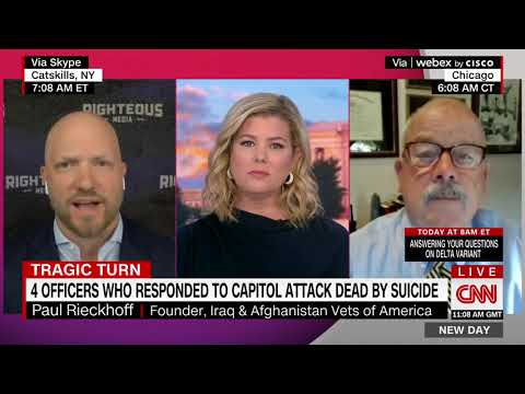 CNN - NEW DAY WITH JOHN BERMAN AND BRIANNA KEILAR - 1/6 FALLOUT - FOURTH DC POLICE OFFICER SUICIDE