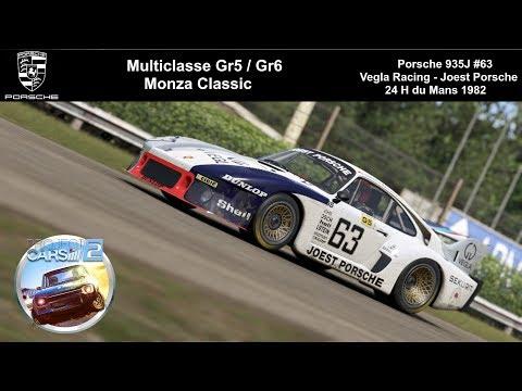 [PCARS2] Porsche 935J - Vegla Joest Racing - Monza Classic