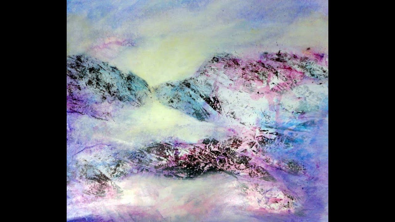 Acrylmalerei Acrylic Painting Demo Youtube