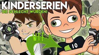 Kinderserien die SCHLECHT wurden! | Ben 10, Winx Club, Teen Titans, usw