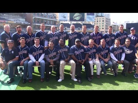 1998 San Diego Padres reunite at Petco Park on 15 yr aniversary