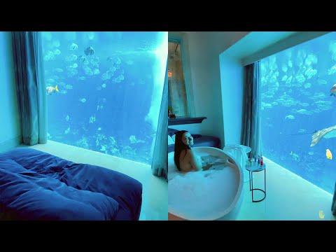 Underwater Luxury Hotel Room – Atlantis The Palm Hotel in Dubai || Best Viral Videos