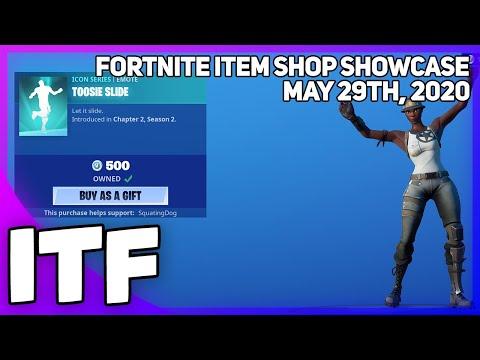 Fortnite Item Shop *NEW* DRAKE EMOTE!! [May 29th, 2020] (Fortnite Battle Royale)