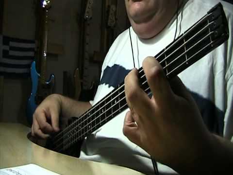 The Outfield Your Love Bass Cover With Bass Notes Tab Youtube