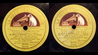 UN BALLO IN MASCHERA - Beniamino Gigli 1943 (Complete Opera Verdi)