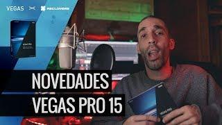 Novedades en Vegas Pro 15