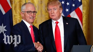 Turnbull really wants Trump to know the U.S. and Australia are 'mates'
