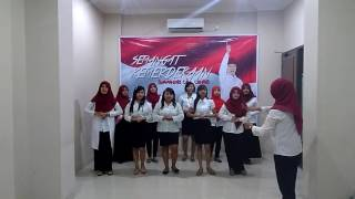 Paduan suara indonesia pusaka @swamandiri call center semarang