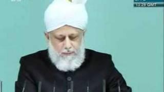 Shia Sunni or Adal wa Hakam khutba juma 2 12 2011 clip 5
