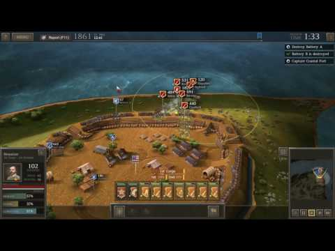 Best strategy to capture Coastal Fort at bank of Potomac River in the Ultimate General Civil War.