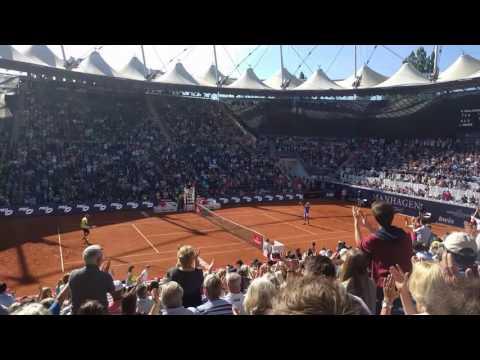 Wow! Matchpoint 16 yo (!!) Rudi Molleker German Open Qualifying 2017 Hamburg vs. Leonardo Mayer