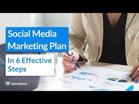 Social Media Marketing Plan: 6 Effective Steps [2018]