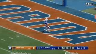 2019: #10 Florida Gators vs. #7 Auburn Tigers
