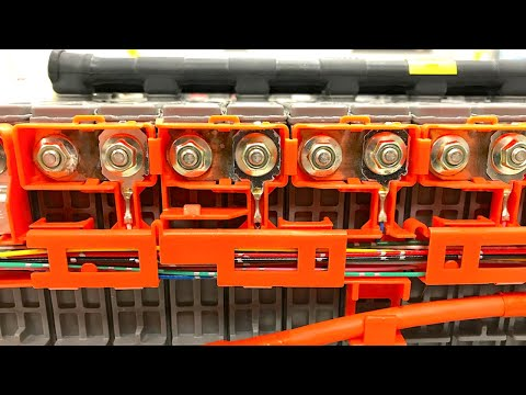 High Voltage Hybrid Electrical Systems - Toyota Prius Ni-MH Battery