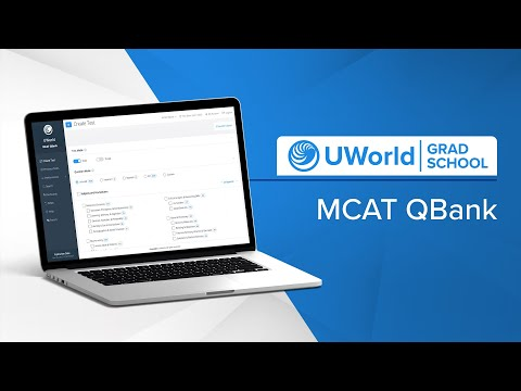 Getting Started with the UWorld MCAT QBank - YouTube