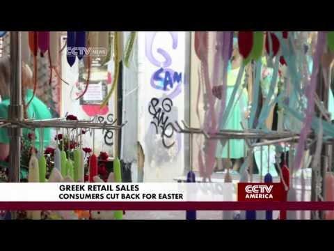 Consumer Spending Still Down in Greece