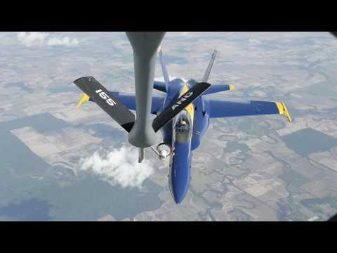 U.S. Navy Blue Angels in 2017