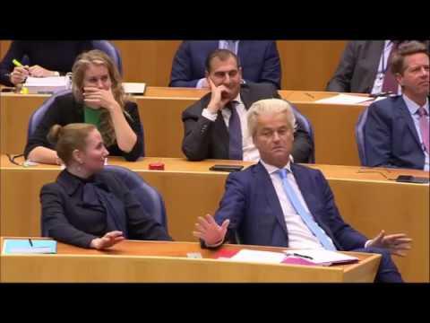 Hilarische Momenten uit de tweede kamer COMPILATIE  Geert Wilders, Mark Rutte en meer!