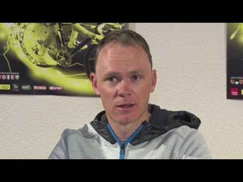 Christopher Froome - Press conference before the race - Tour de Romandie 2017