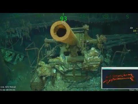 Expedition team finds sunken WWII aircraft carrier USS Lexington