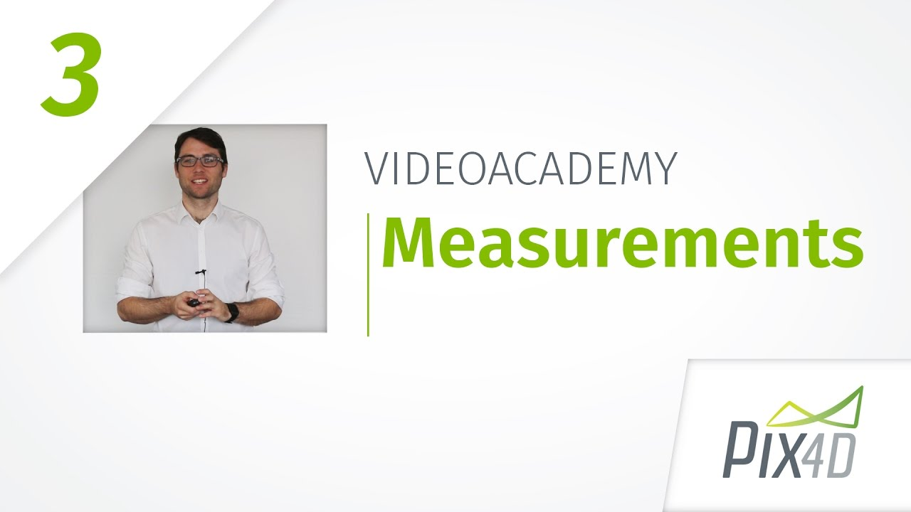 Measuring distances areas and volumes in 3D - Pix4Dmapper Video Tutorial 3