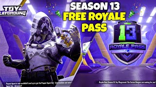 GET FREE ROYALE PASS SEASON 13 - PUBG MOBILE GAMEPLAY HINDI - G GURUJI