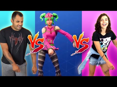DESAFIO DA DANÇA DO FORTNITE - Na Vida Real