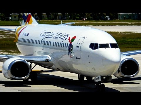 Grand Cayman (GCM) Spotting - JetBlue/United – Boeing 737-300 & More - Spotting Series Ep. 139
