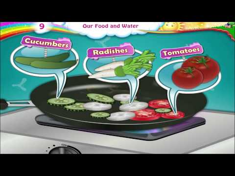 Learn Grade 3 - Science - Constituents of Food and Water