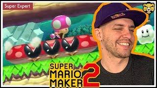 Super Mario Maker 2: Endless Super Expert #5: Back To Back One Shots In Super Expert!
