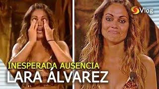 Lara Álvarez abandona Supervivientes 2019 y saltan las alarmas en las redes