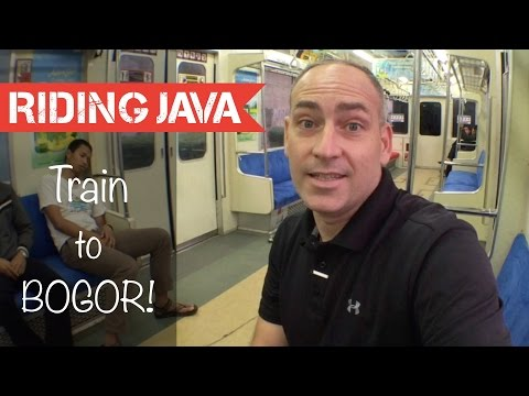 How to Take the Train from Jakarta to Bogor