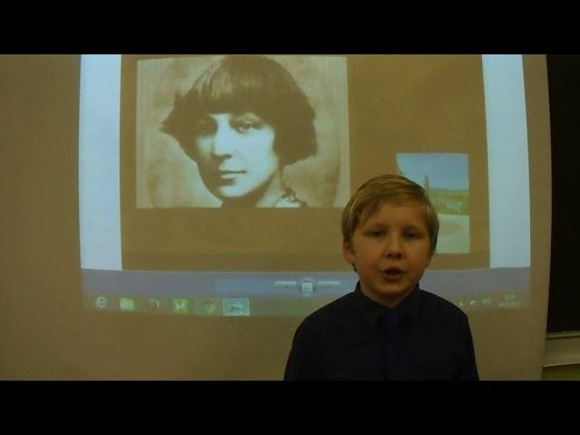 Изображение предпросмотра прочтения – МатвейКузнецов читает произведение «В классе» М.И.Цветаевой
