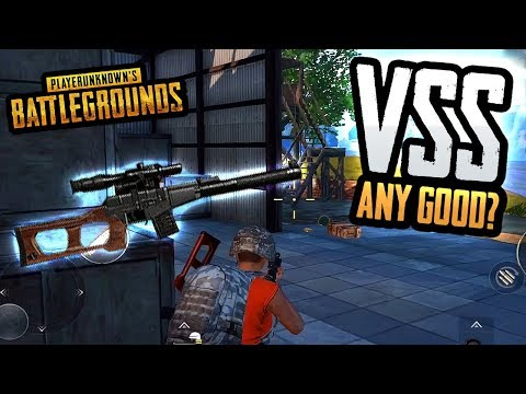 IS THE VSS SNIPER RIFLE ANY GOOD? (PUBG Mobile)