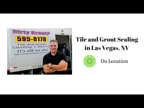 Tile and Grout Sealing Service in Las Vegas, NV