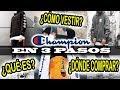 CHAMPION | EN 3 PASOS