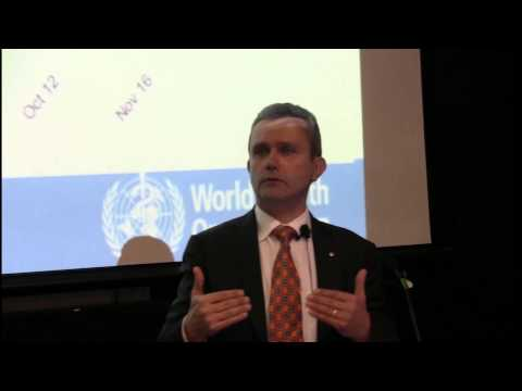 Responding to Ebola - WHO Director of Ebola Response Dr Rick Brennan
