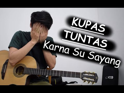 Tutorial Gitar (Karna Su Sayang - Near Feat. Dian Sorowea)