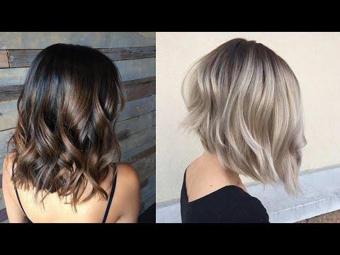 Модные женские стрижки на волосы средней длины. Прически ...