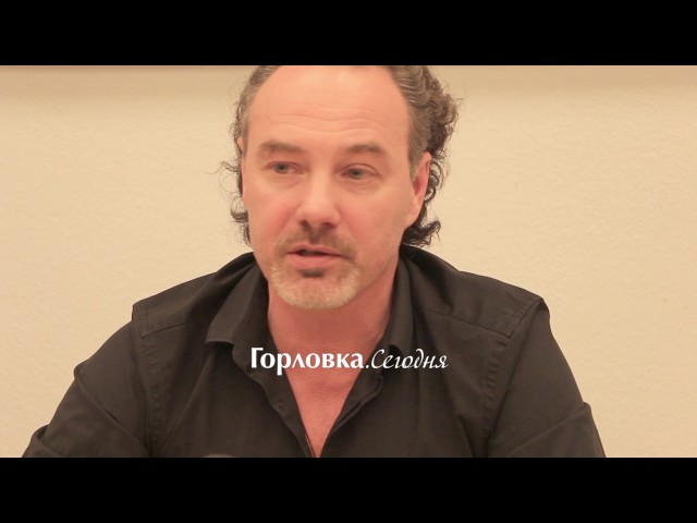 Интервью Джанго в Горловке 28 ноября 2016 года