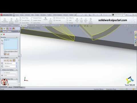 SolidWorks Sac Levha Uygulama 3