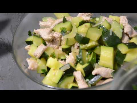 salade-dinde-courgette-recette-cookeo