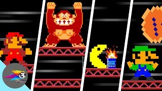 Famous OP character With Super Mario Bros in Donkey Kong (Official series)