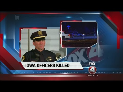 BREAKING: 2 Des Moines Officers Ambushed and Murdered