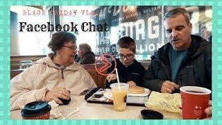 Stranger Things:Black Friday McDonalds Facebook Conversation