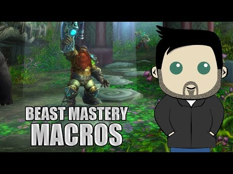 Beast Mastery Hunter GSE Macros For 8.0