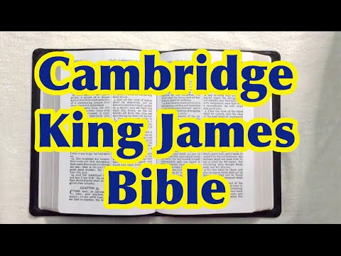 King James Bible Cambridge Text (KJB, Independant Baptist, preaching)