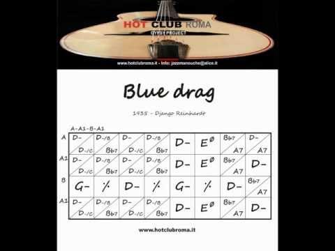 Django Reinhardt - Grilles/Chords - BLUE DRAG